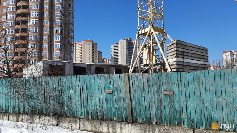 Хід будівництва ЖК Еврика, 19 будинок, лютий 2021