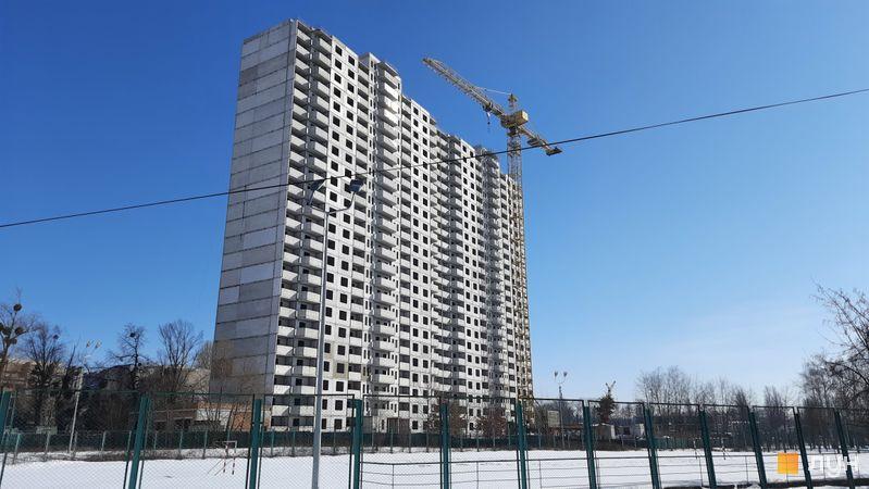 Хід будівництва ЖК Еврика, 27 будинок, лютий 2021