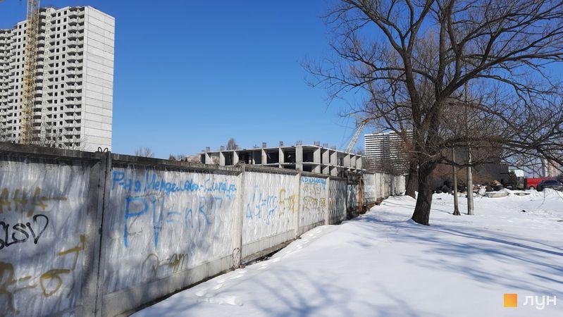 Хід будівництва ЖК Еврика, 28 будинок, лютий 2021
