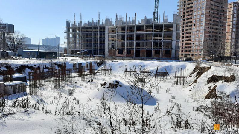 Хід будівництва ЖК Еврика, 30 будинок, лютий 2021