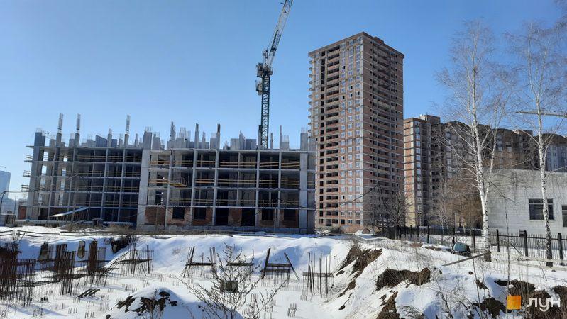 Хід будівництва ЖК Еврика, 31 будинок, лютий 2021