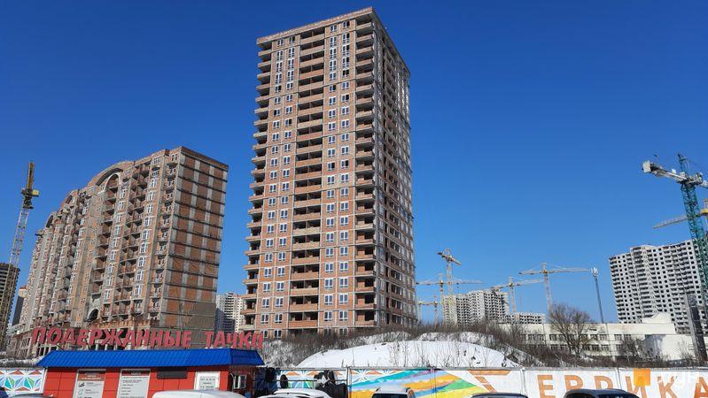 Хід будівництва ЖК Еврика, 1 будинок, лютий 2021