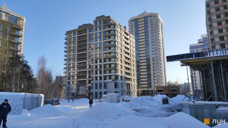 Хід будівництва ЖК Krona Park II, 1.1 будинок, лютий 2021