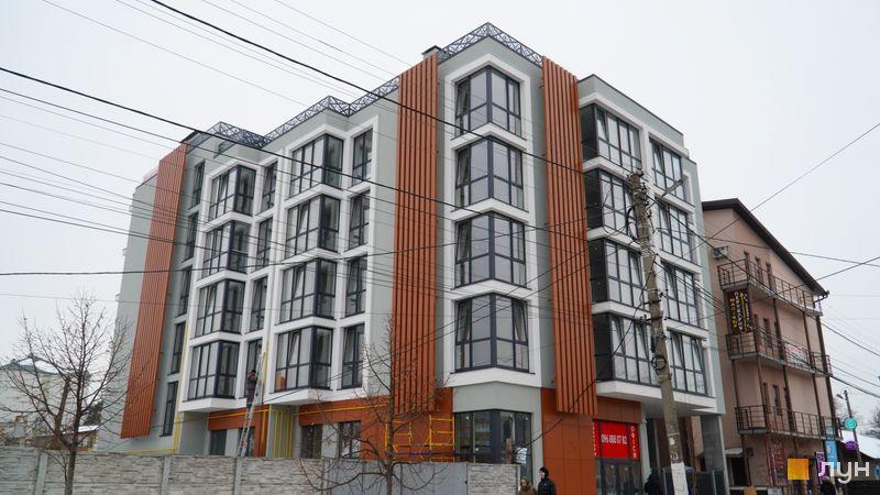 Хід будівництва ЖК CENTRAL HOUSE, 1 будинок, лютий 2021