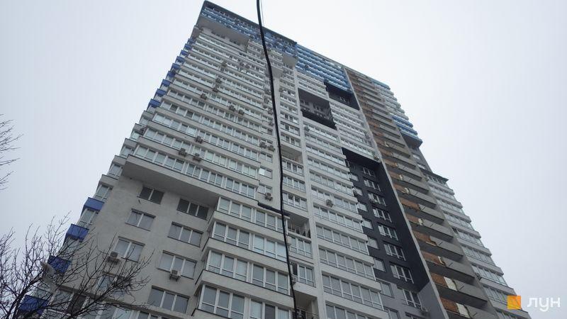 Ход строительства ЖК Научный, Дом, февраль 2021