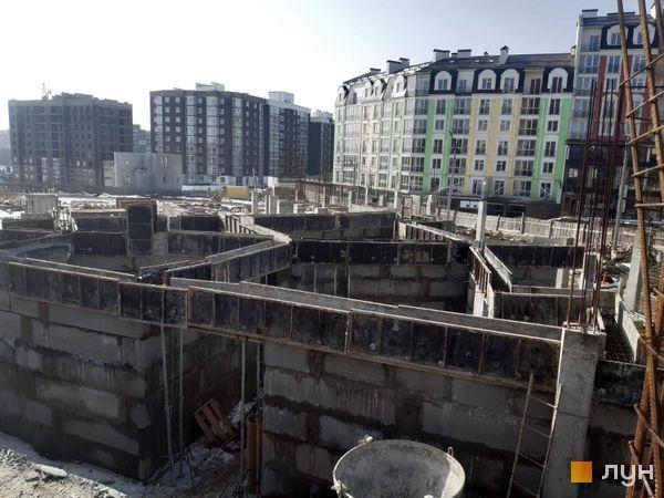 Хід будівництва ЖК Grand Royal, , лютий 2021