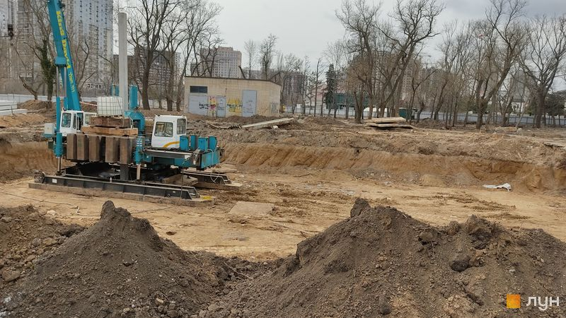 Хід будівництва Doma Trabotti, , березень 2021
