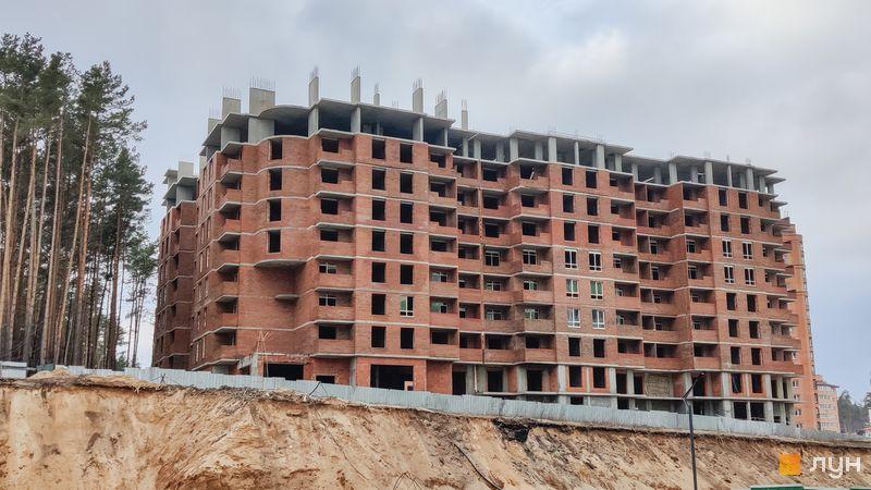 Ход строительства ЖК Sherwood Park, 1 дом, март 2021
