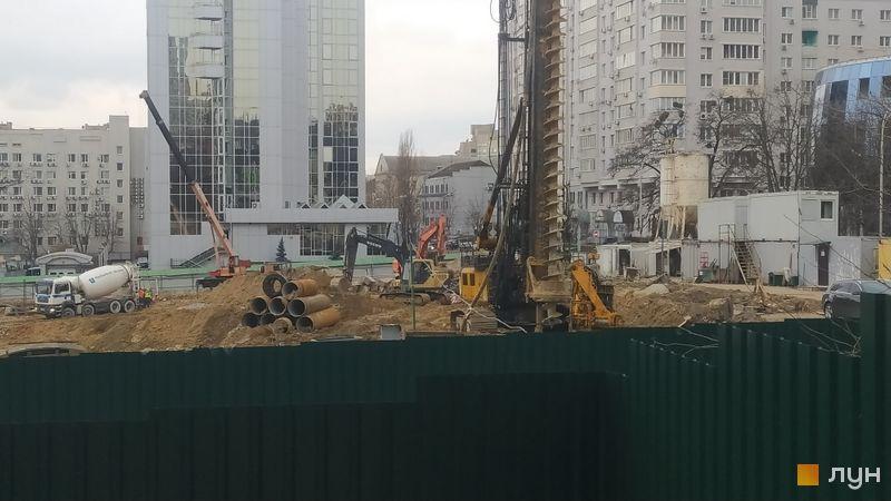 Хід будівництва ЖК TRIIINITY, , березень 2021