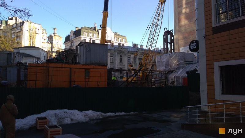Хід будівництва ЖК Krauss Gallery, , березень 2021