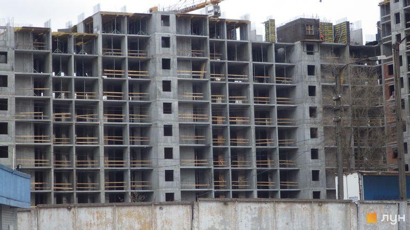 Хід будівництва ЖК Голосіївська Долина, 2 будинок  (секція 3), березень 2021