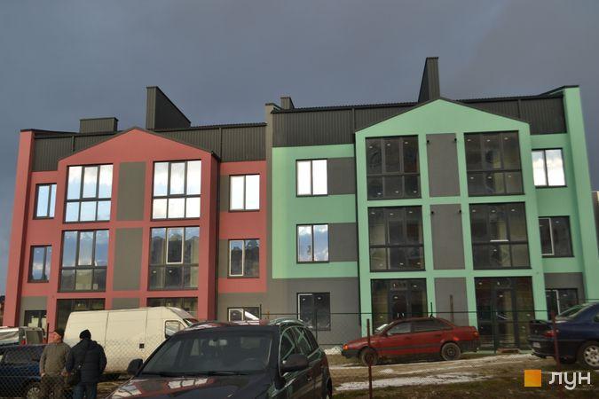 Хід будівництва ЖК Вілла Італія, 1-2 будинки, березень 2021