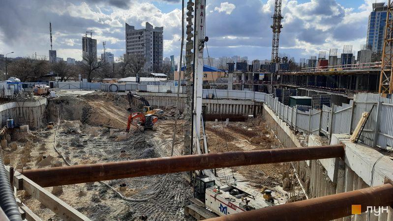 Ход строительства ЖК Delrey, , март 2021