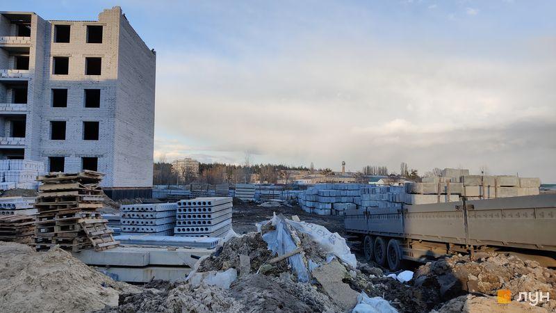 Ход строительства ЖК Millennium State, 4 дом (секция 4Б), март 2021
