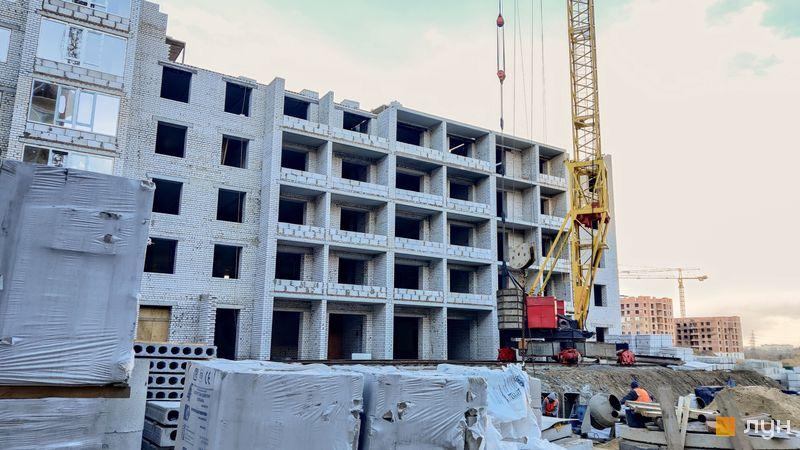 Ход строительства ЖК Millennium State, 4 дом (секция 4А), март 2021
