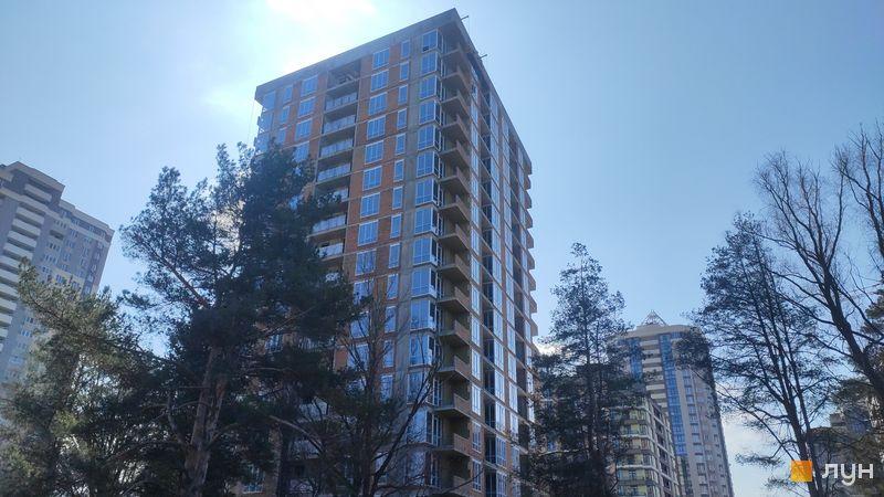 Хід будівництва ЖК Krona Park II, 3.2 будинок, березень 2021