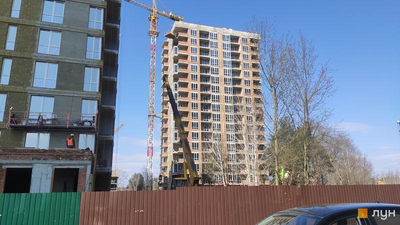 Ход строительства ЖК Krona Park II, 3.2 дом, март 2021