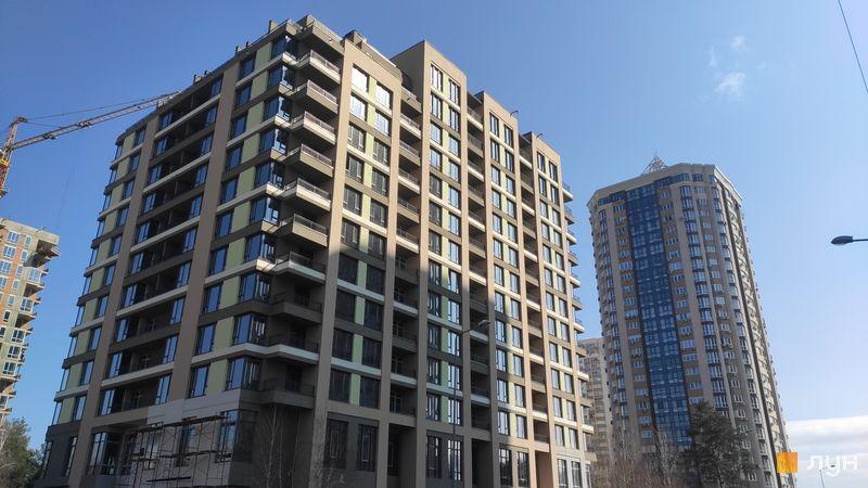 Ход строительства ЖК Krona Park II, 1.1 дом, март 2021