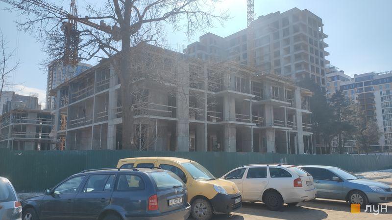 Хід будівництва ЖК Krona Park II, 6 будинок, березень 2021