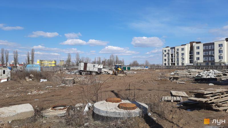 Ход строительства ЖК PARKLAND, , март 2021
