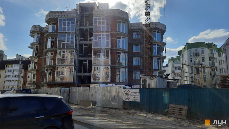 Ход строительства ЖК Власна Квартира, 5 дом, март 2021