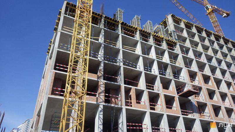 Хід будівництва ЖК Rusaniv Residence, 3 секція, березень 2021