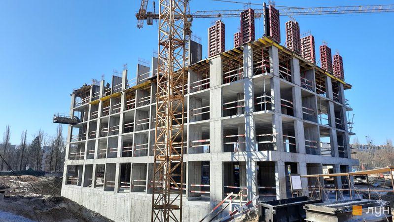 Хід будівництва ЖК Dibrova Park, 5 будинок, березень 2021