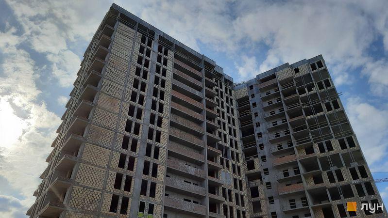 Хід будівництва ЖК Нивки-Парк, 11 будинок, березень 2021
