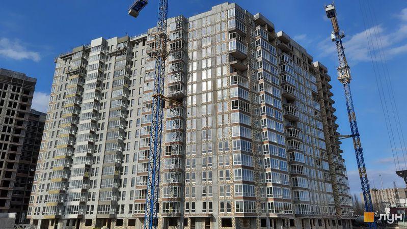 Хід будівництва ЖК Нивки-Парк, 12 будинок, березень 2021