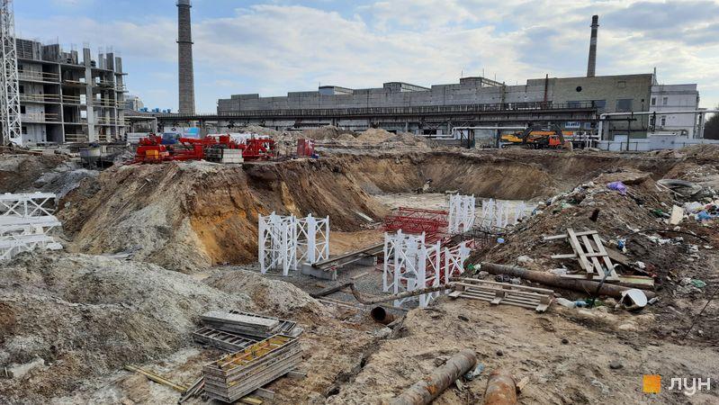 Хід будівництва ЖК Нивки-Парк, 9 будинок, березень 2021