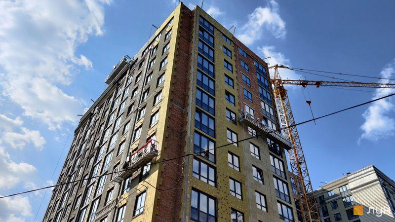 Хід будівництва ЖК Центральний-Преміум, 1 будинок, березень 2021