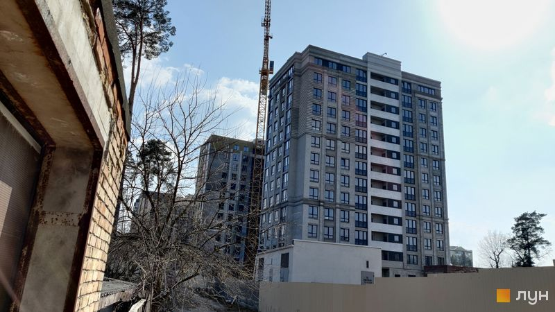 Хід будівництва ЖК Центральний-Преміум, 1 дом, березень 2021