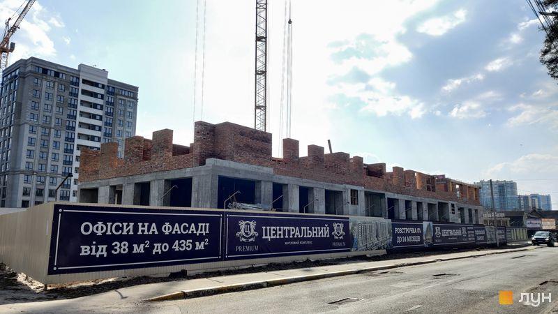 Хід будівництва ЖК Центральний-Преміум, 2 будинок, березень 2021