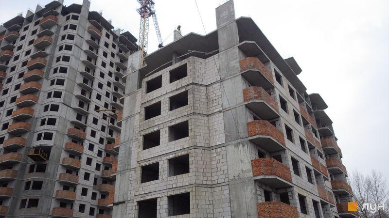 Хід будівництва ЖК НебоSky, 2 будинок (секція 1), березень 2021