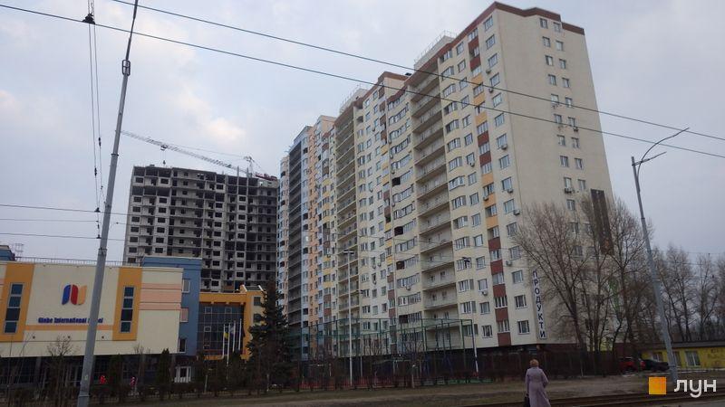 Хід будівництва ЖК НебоSky, 1 будинок (секції 1-5), березень 2021