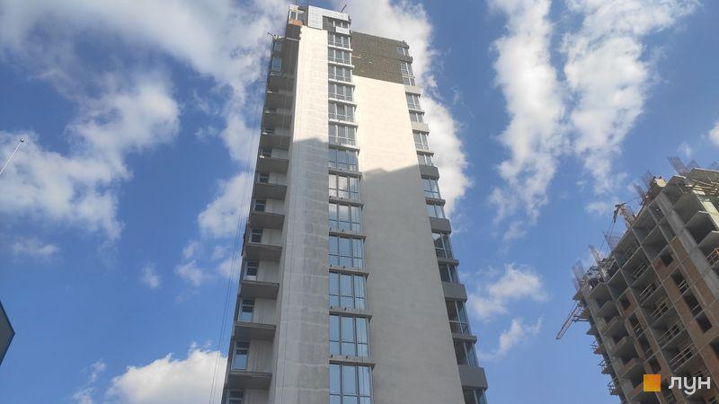 Ход строительства ЖК Crystal Avenue, 3 дом, апрель 2021