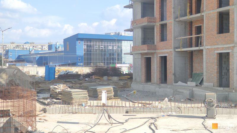 Ход строительства ЖК Crystal Avenue, 5 дом, апрель 2021