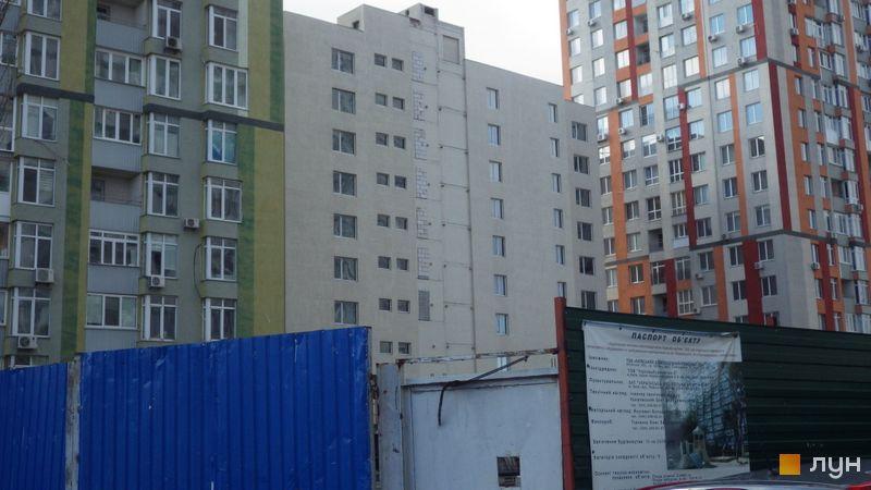 Хід будівництва ЖК Грюнвальд, 7 будинок, квітень 2021