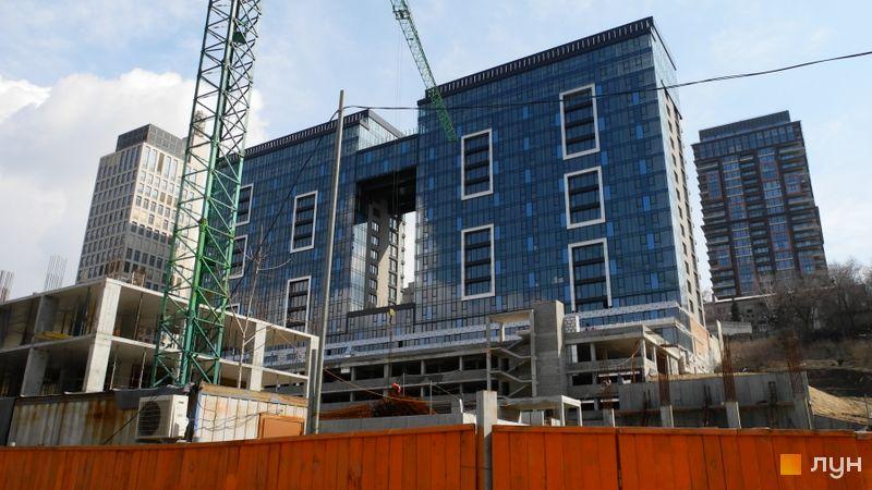 Хід будівництва ЖК Nebo, 1 будинок, квітень 2021