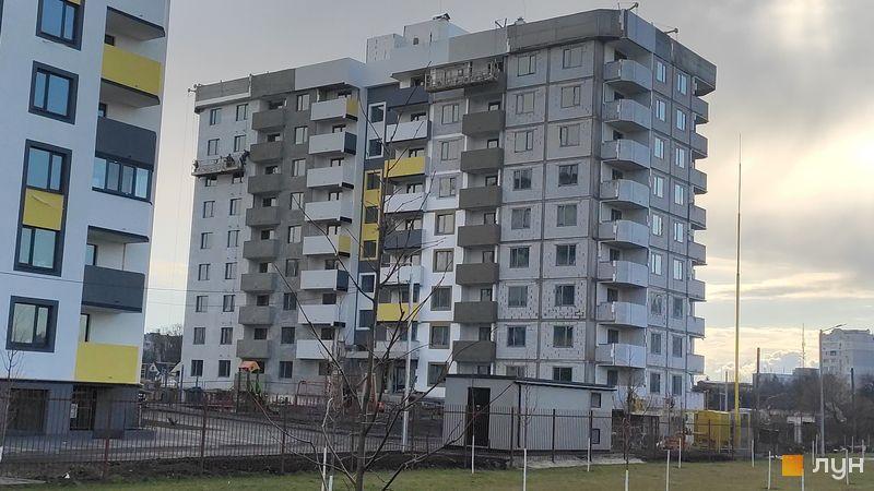 Ход строительства ЖК Банковский 2, 2 дом, апрель 2021