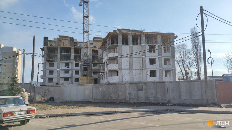 Хід будівництва ЖК Уюткино, 3 дом, квітень 2021