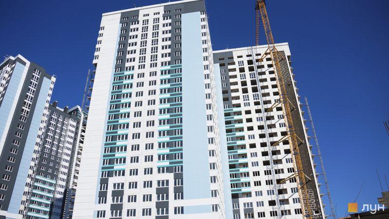 Ход строительства ЖК Скай Сити, 2 дом, апрель 2021