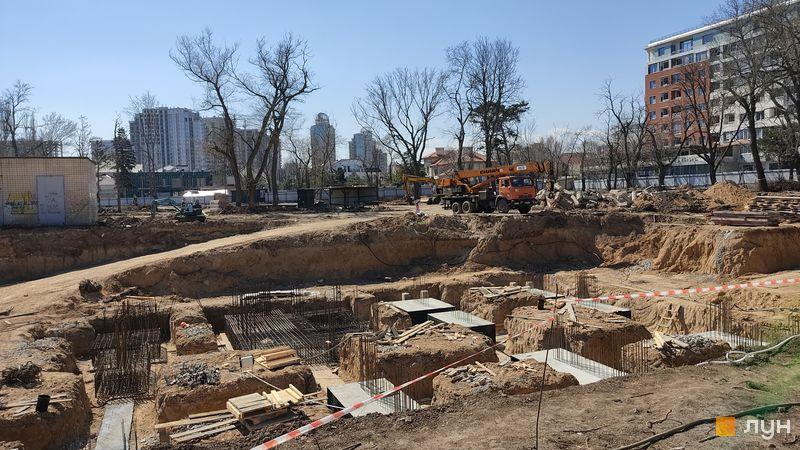 Хід будівництва Doma Trabotti, 1 будинок, квітень 2021