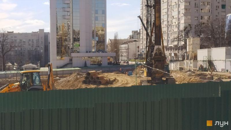 Хід будівництва ЖК TRIIINITY, , квітень 2021