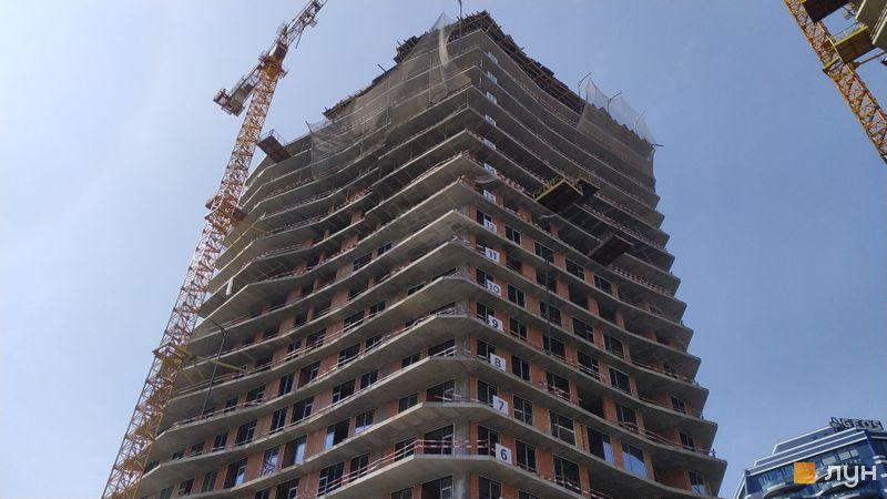 Хід будівництва ЖК Diadans, 1 будинок, квітень 2021