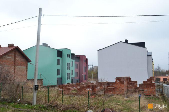 Хід будівництва ЖК Вілла Італія, 1-4 будинки, квітень 2021