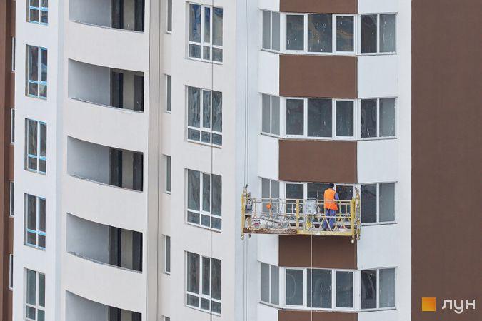 Хід будівництва ЖК POLARIS Home&Plaza, 1 будинок (секції 1.1, 1.2), квітень 2021