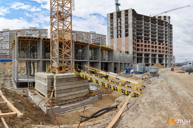 Хід будівництва ЖК POLARIS Home&Plaza, 2 будинок (секція 3.2, 3.3), квітень 2021