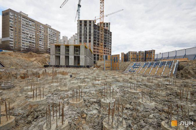 Хід будівництва ЖК POLARIS Home&Plaza, 2 будинок (секція 3.1-3.3), квітень 2021