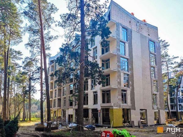 Ход строительства ЖК O2 Residence, 3 дом, апрель 2021